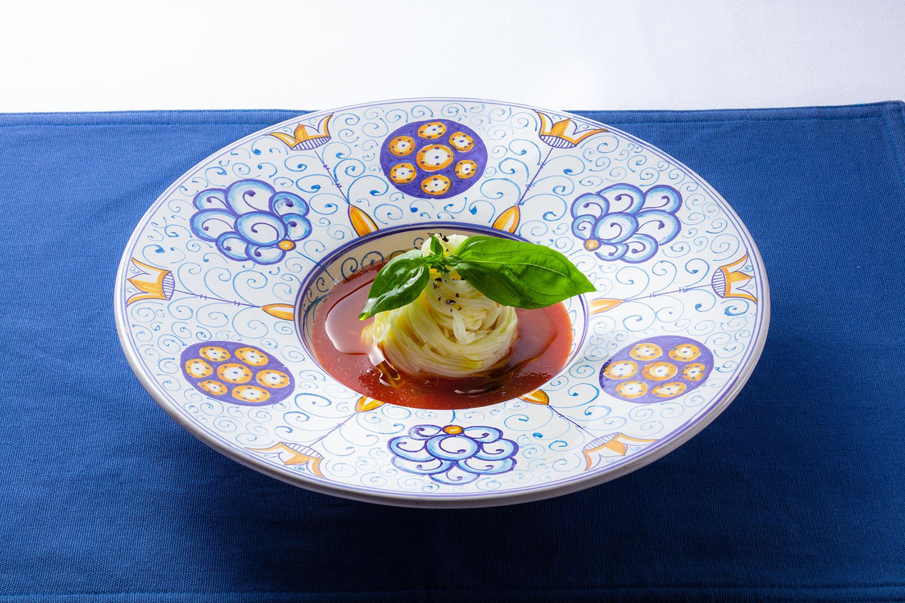Italian sōmen noodles